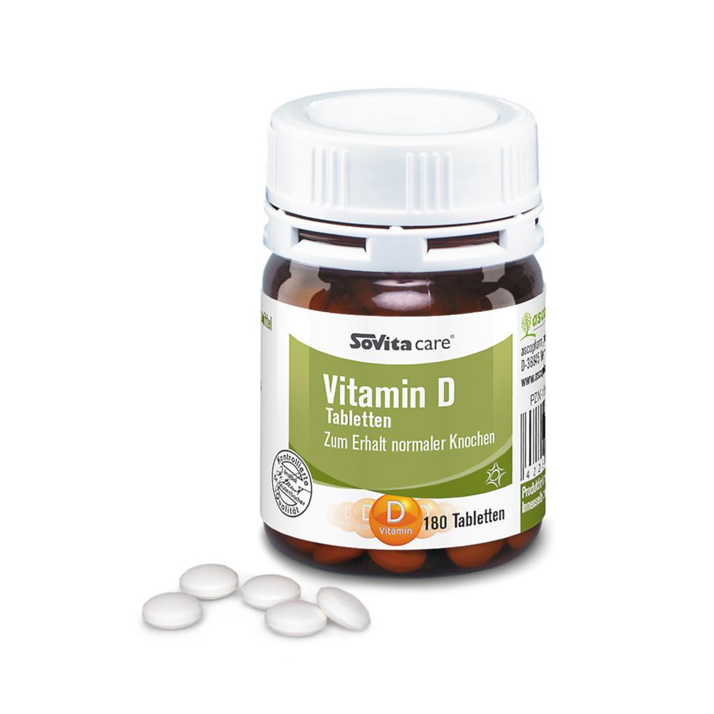 Ascopharm GmbH SOVITA care Vitamin D Tabletten 10065561