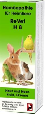 Dr. Reckeweg & Co. GmbH REVET H 8 Globuli f.Heimtiere 03694807
