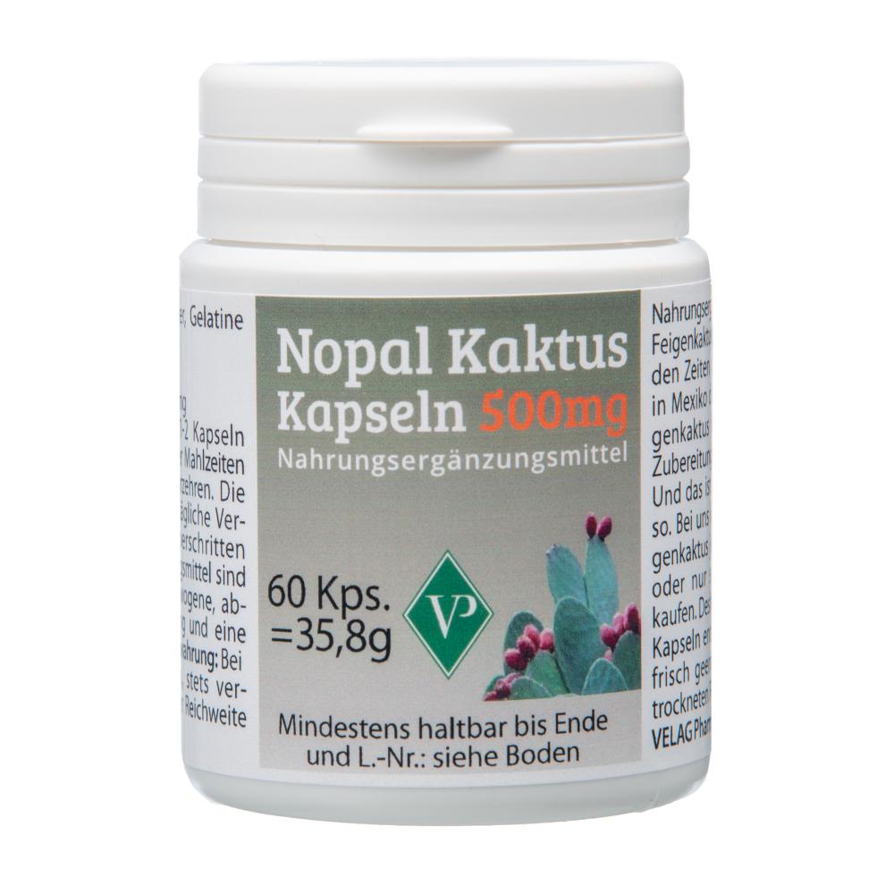 NOPAL Kaktus 500 mg Kapseln