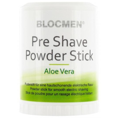 Functional Cosmetics Company AG BLOCMEN Aloe Vera Pre Shave Powder Stick 08920697