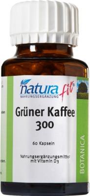 NaturaFit GmbH NATURAFIT grüner Kaffee 300 Extrakt Kapseln 08644441