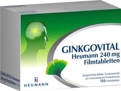HEUMANN PHARMA GmbH & Co. Generica KG GINKGOVITAL Heumann 240mg 11526283