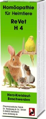 Dr. Reckeweg & Co. GmbH REVET H 4 Globuli f.Heimtiere 03694776