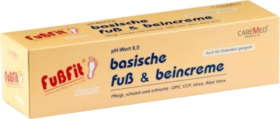 CareMed Products GmbH FUSSFIT Creme 04998596