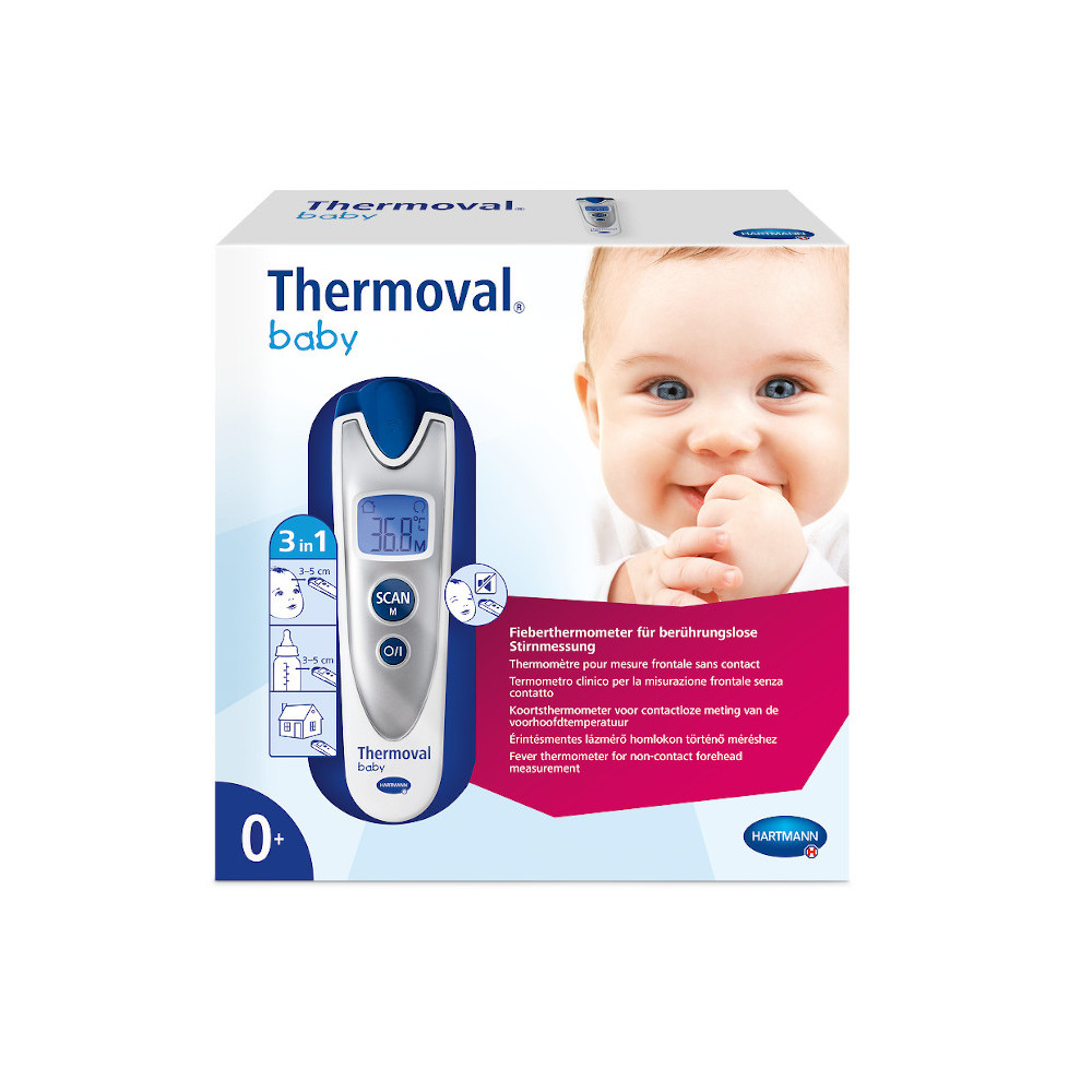 Paul Hartmann AG THERMOVAL baby non-contact Infrarot-Fieberthermometer 11352529