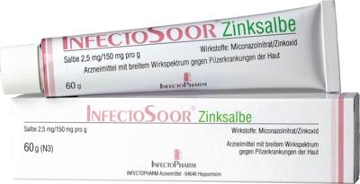 Infectopharm Arzneimittel und Consilium GmbH InfectoSoor Zinksalbe 08862066