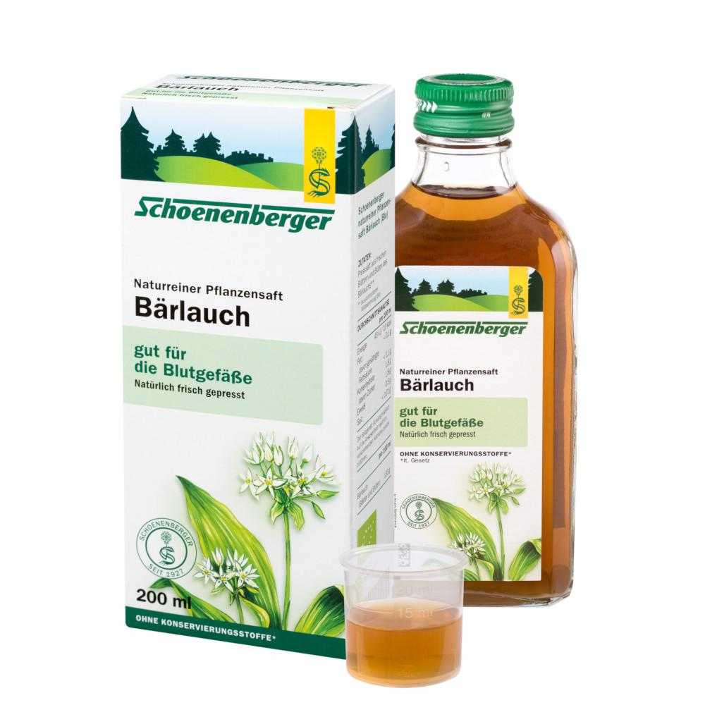 SALUS Pharma GmbH BÄRLAUCH SAFT Schoenenberger Saft 00692050