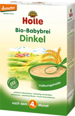Holle baby food AG HOLLE Bio Babybrei Dinkel 02909246