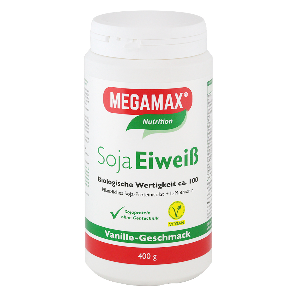 Megamax B.V. SOJA EIWEISS 80+Methionin Vanille Pulver 01445282