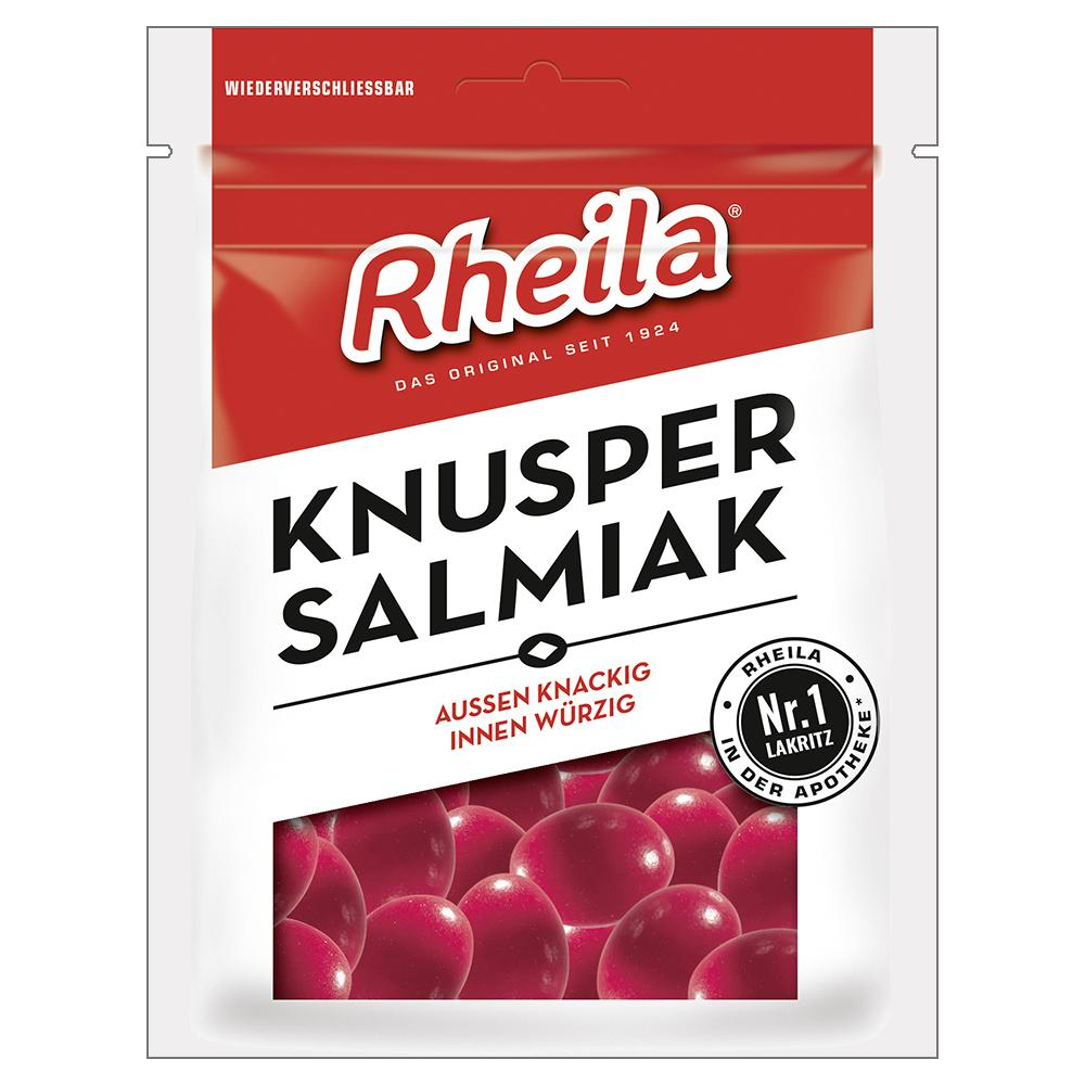 Dr. C. SOLDAN GmbH RHEILA Knusper Salmiak mit Zucker Bonbons 02461337