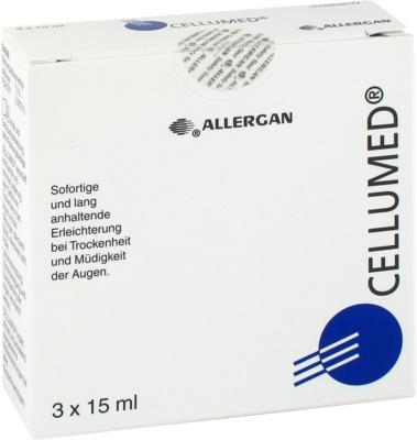 Allergan GmbH CELLUMED Augentropfen 03394229