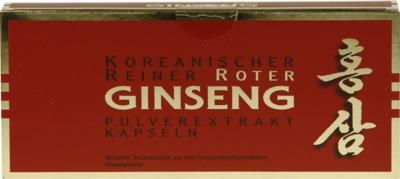 KGV Korea Ginseng Vertriebs GmbH ROTER GINSENG Extrakt Kapseln 00434885