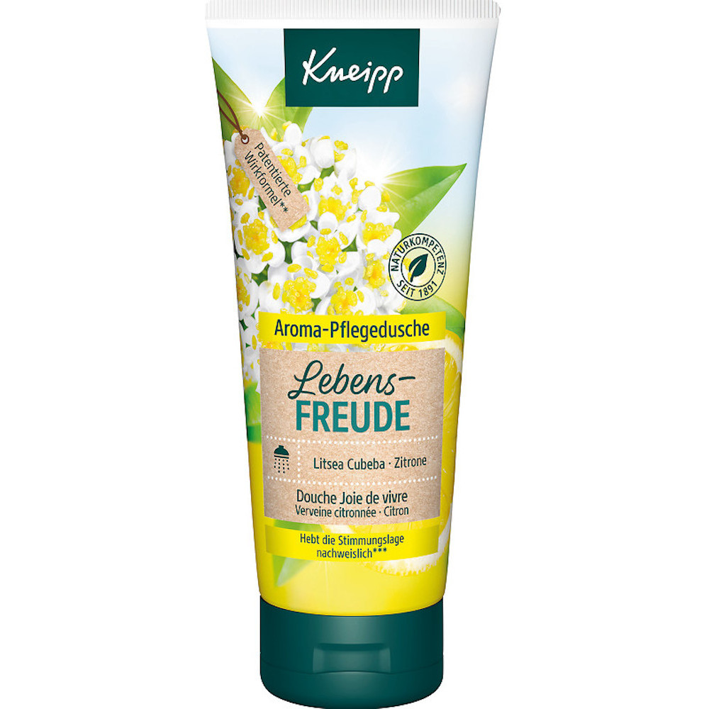 Kneipp Aroma-Pflegedusche Lebens-FREUDE Zitrone