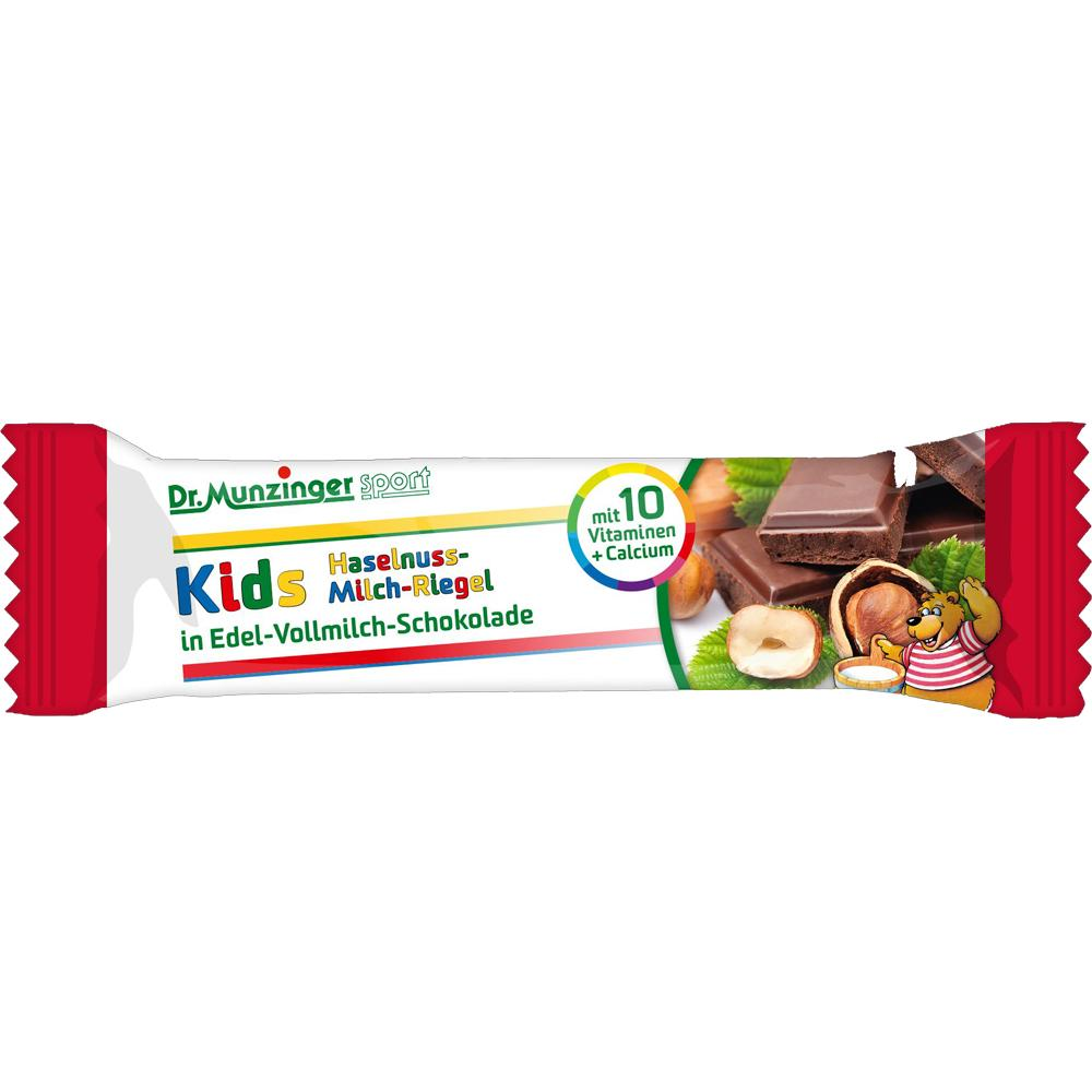 Dr. Munzinger Sport GmbH & Co. KG DR.MUNZINGER Kids Haselnuss-Milch-Riegel 00345667