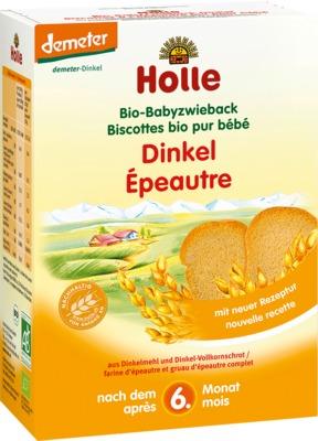 Holle baby food AG HOLLE Bio Baby Dinkel Zwieback 03706901