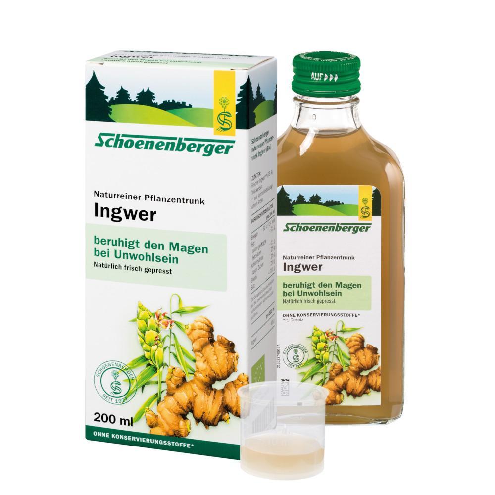 SALUS Pharma GmbH INGWER PFLANZENTRUNK Schoenenberger 02640525
