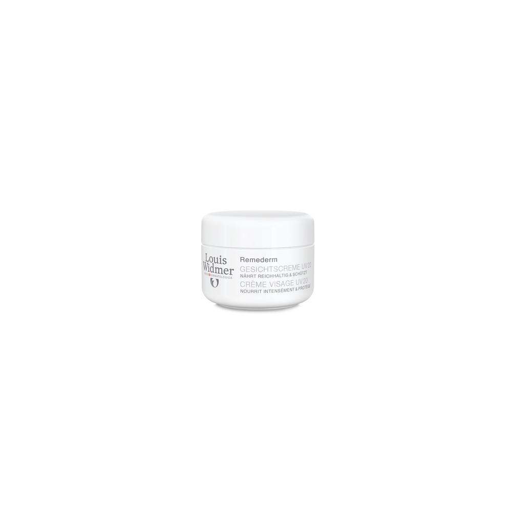 Louis Widmer GmbH WIDMER Remederm Gesichtscreme UV 20 leicht parfüm. 13348408