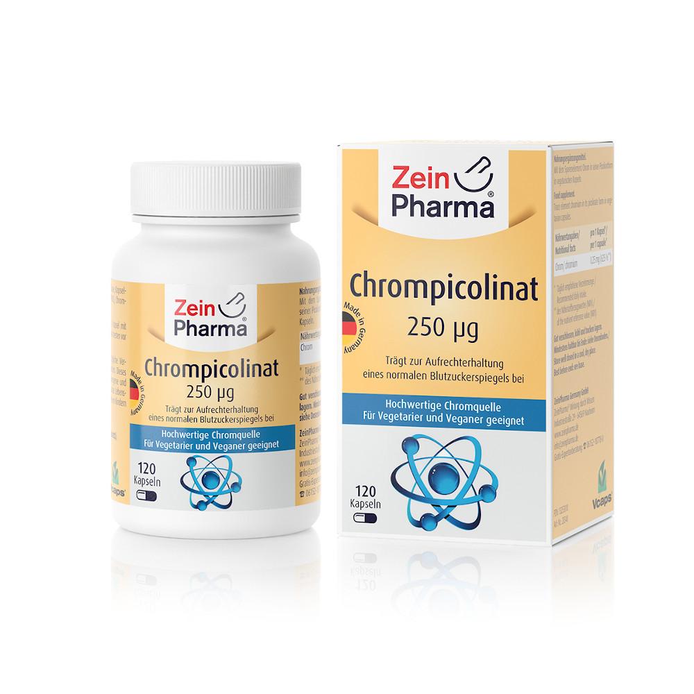 Zein Pharma - Germany GmbH Chrompicolinat 250µg 13253010