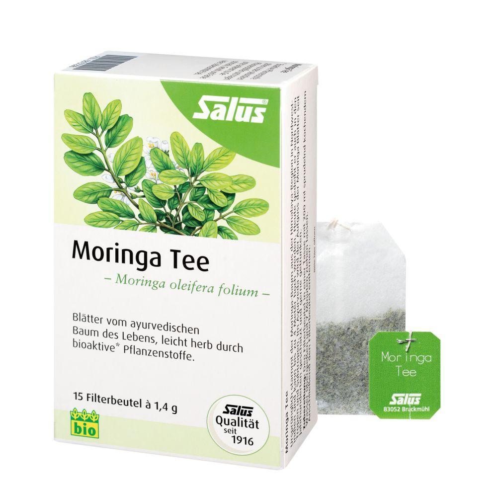 SALUS Pharma GmbH Moringa Tee Bio Moringa Oleifera Folium Salus Fbtl 08757228