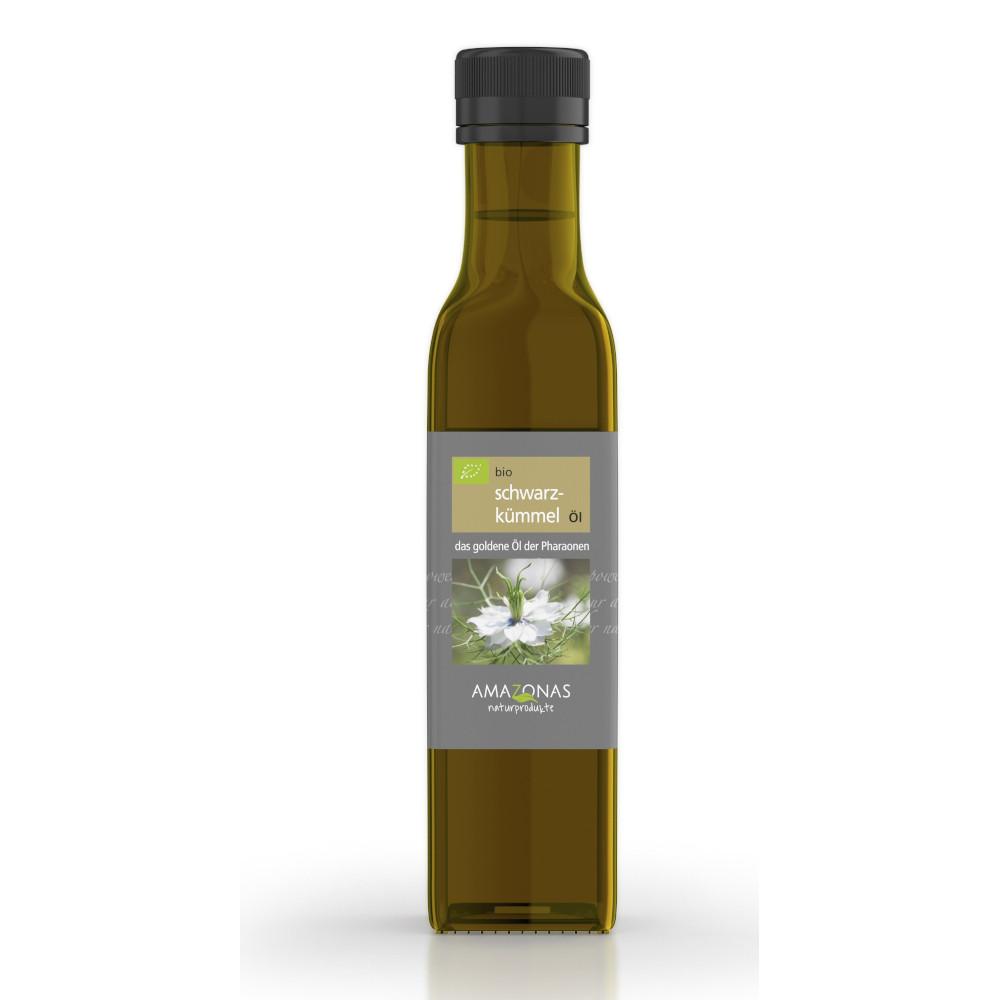 AMAZONAS Naturprodukte Handels GmbH AMAZONAS Bio Schwarzkümmel Öl 11606674