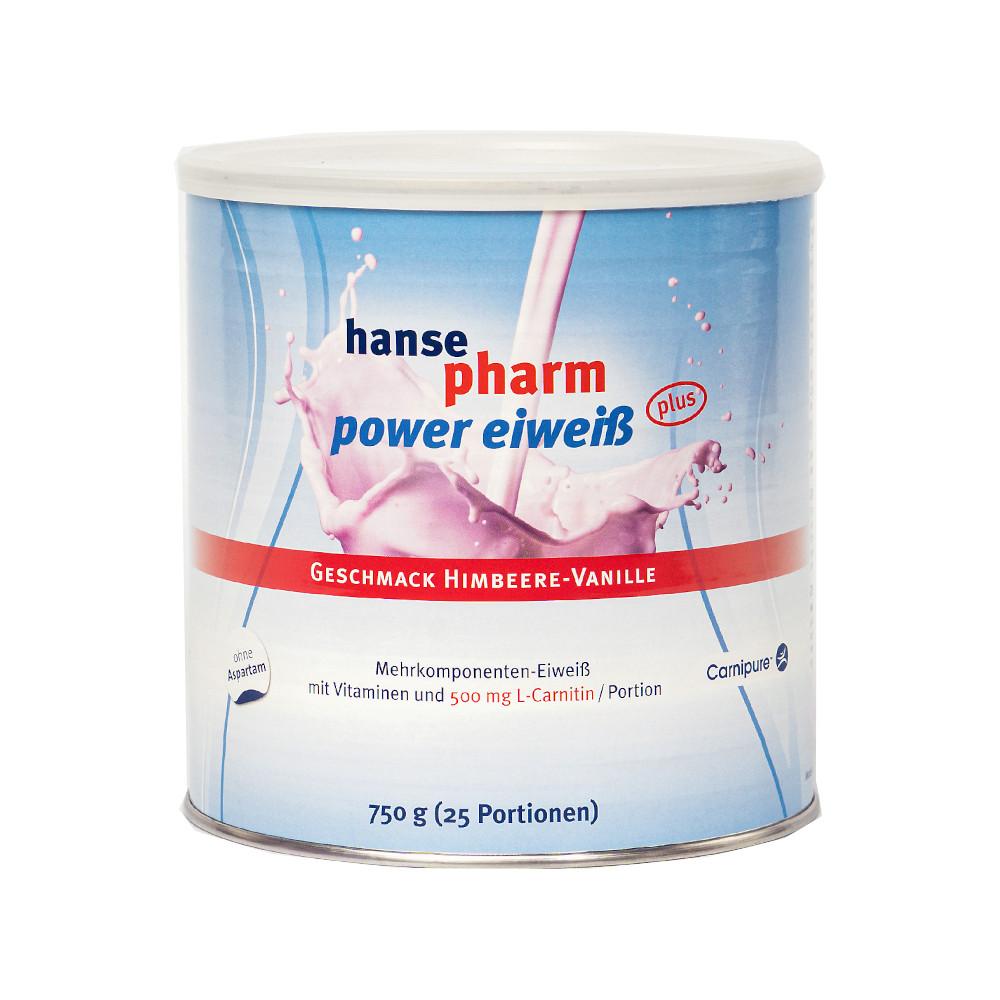 NUTRICHEM Diät + Pharma GmbH hansepharm power eiweiß HIMBEERE-VANILLE 11537884