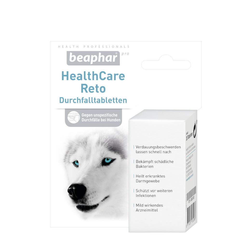 Beaphar B.V. HealthCare RETO Durchfalltabletten für Hunde 12568326