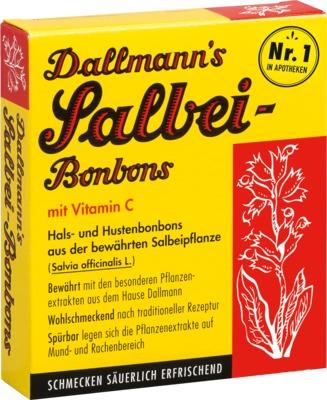Dallmann's Pharma Candy GmbH Dallmann´s Salbei-Bonbons mit Vitamin C 00258738