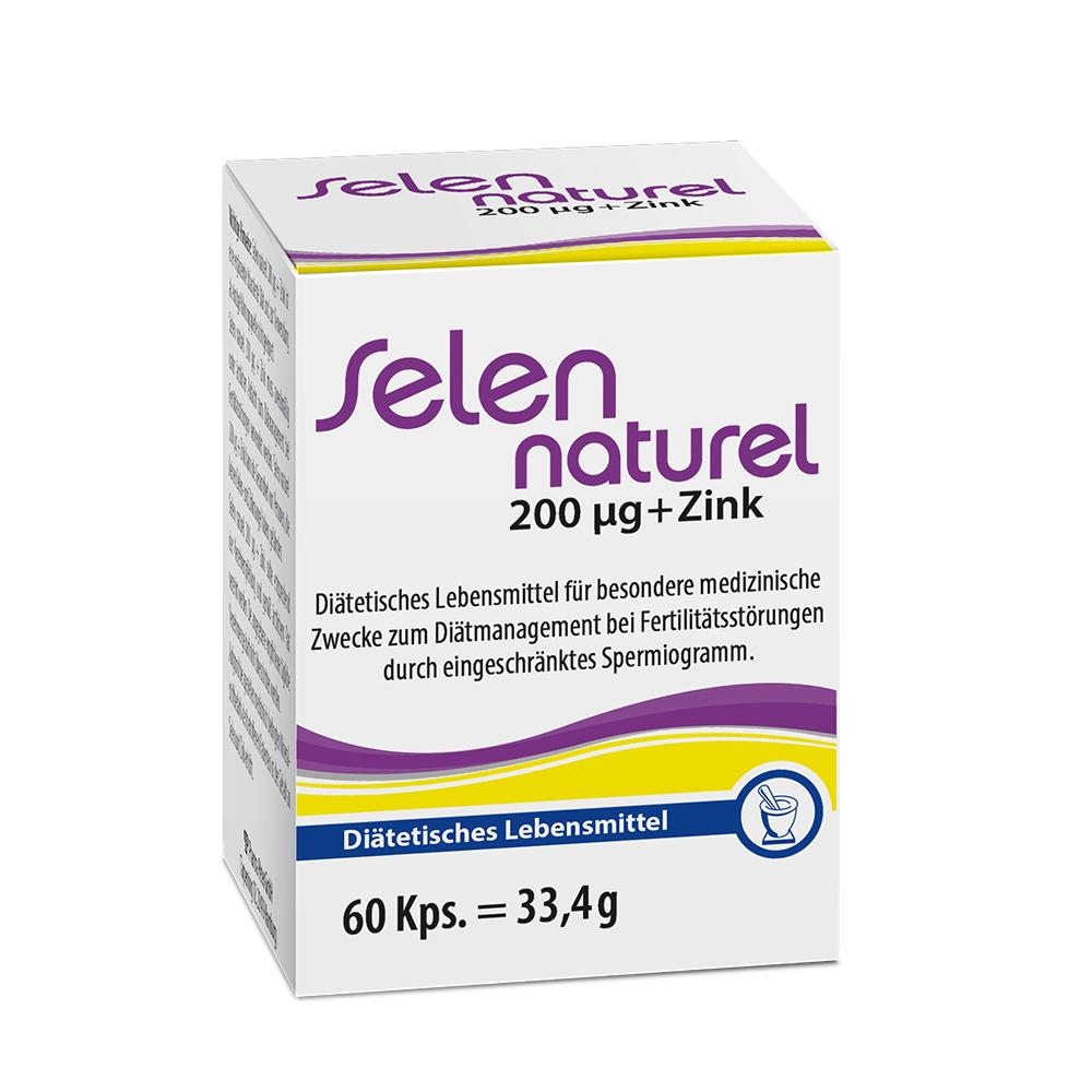 Pharma Peter GmbH SELENNATUREL 200 µg+Zink Kapseln 04922340