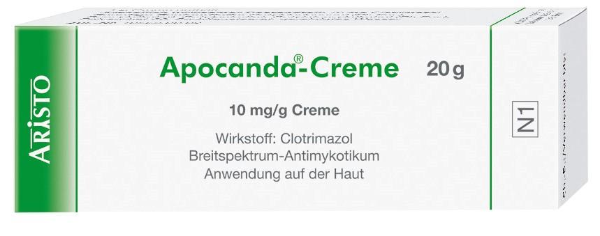 Aristo Pharma GmbH Apocanda 1% 04292175