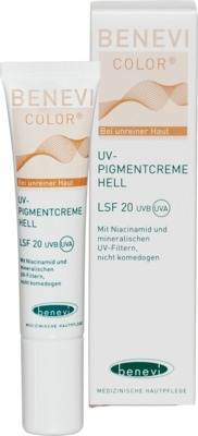 Benevi Med GmbH & Co. KG BENEVI Color UV-Pigmentcreme hell LSF 20 11642405