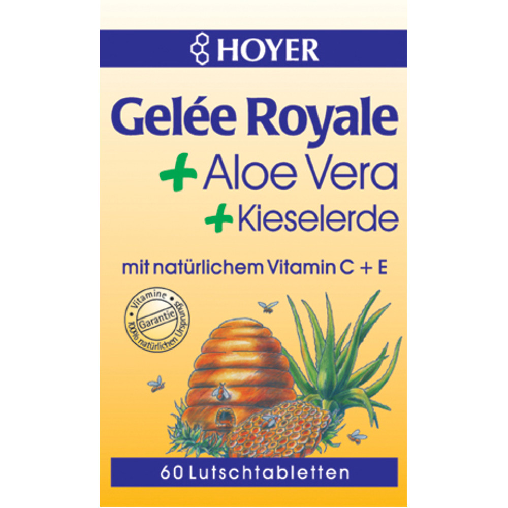 HOYER GmbH Hoyer Bio Gelee Royale & Aloe Vera Lutschtabletten 04704471