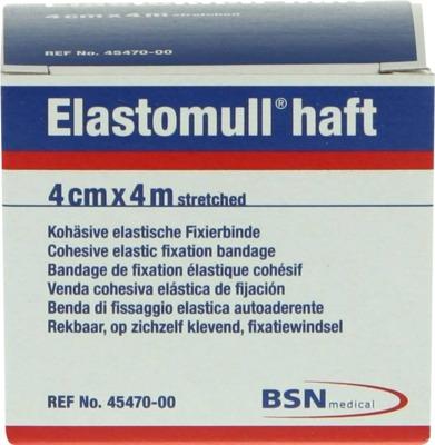 Elastomull haft 4cmx4m streched Kohösive elastische Fixierbinde