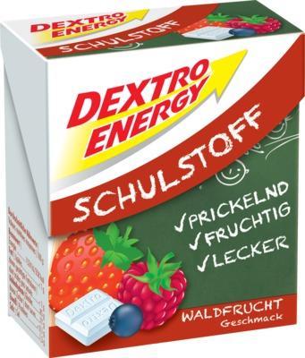 DEXTRO ENERGY Schulstoff Waldfrucht Täfelchen
