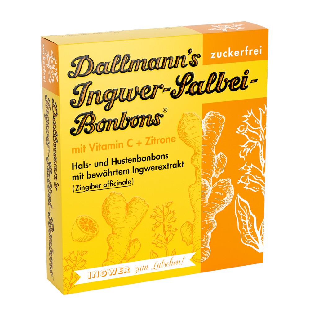 Dallmann's Pharma Candy GmbH Dallmann's Ingwer-Salbei-Bonbons 15747957