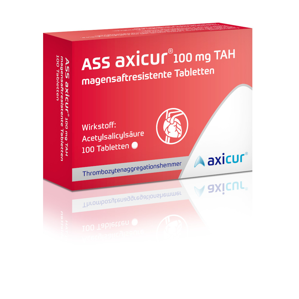 axicorp Pharma GmbH ASS axicur 100 mg TAH 16084720