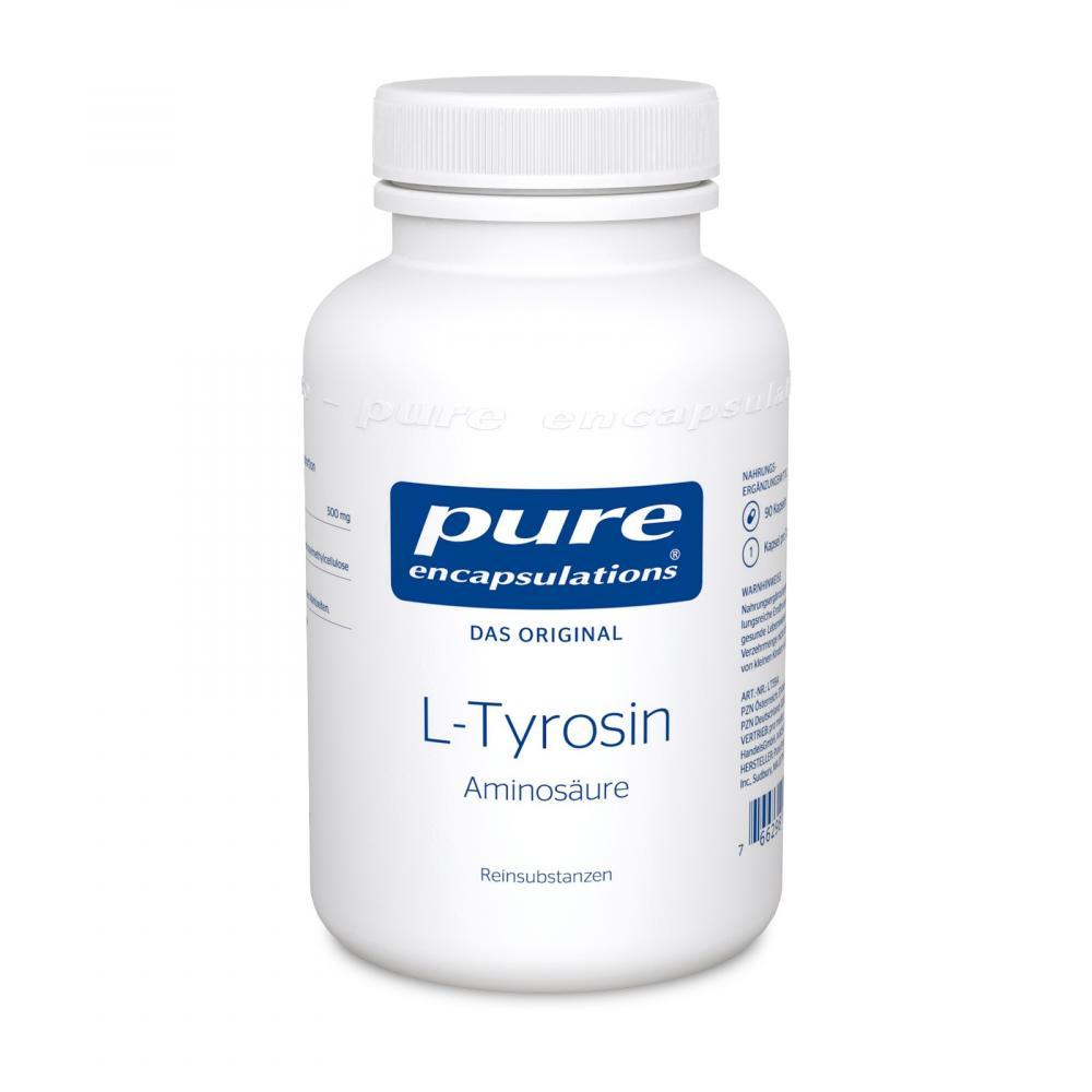 Pure Encapsulations L-tyrosin Kapseln