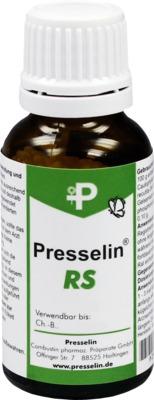 COMBUSTIN Pharmazeutische Präparate GmbH PRESSELIN RS Regelschmerzen Globuli 08859963