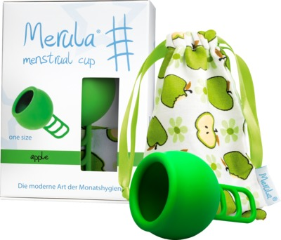Merula GmbH MERULA Menstrual Cup apple grün 13588928