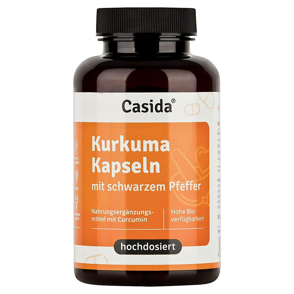 Casida GmbH & Co. KG Casida Kurkuma Kapseln mit schwarzem Pfeffer 16671995