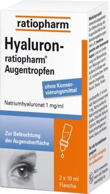 ratiopharm GmbH HYALURON ratiopharm Augentropfen 10810220