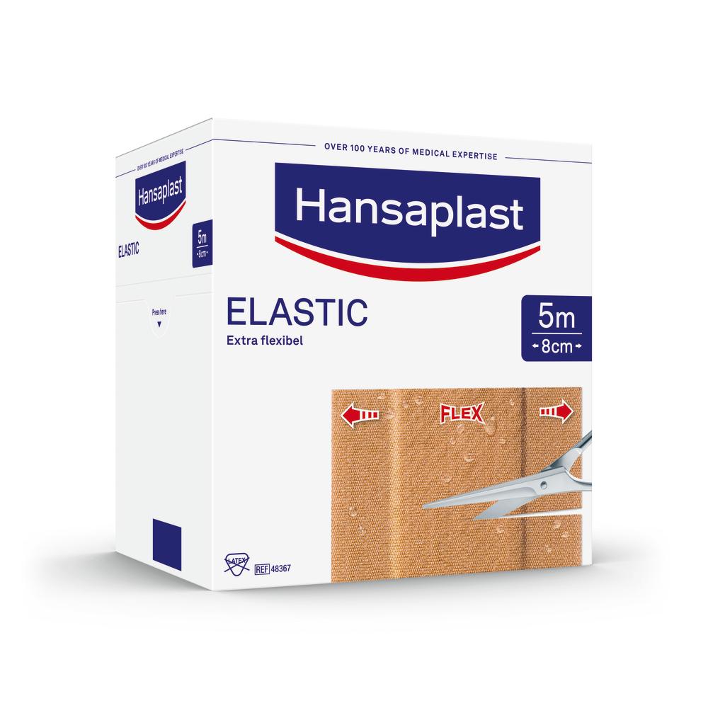 Beiersdorf AG Hansaplast ELASTIC Pflaster 8cm x 5m 07577636