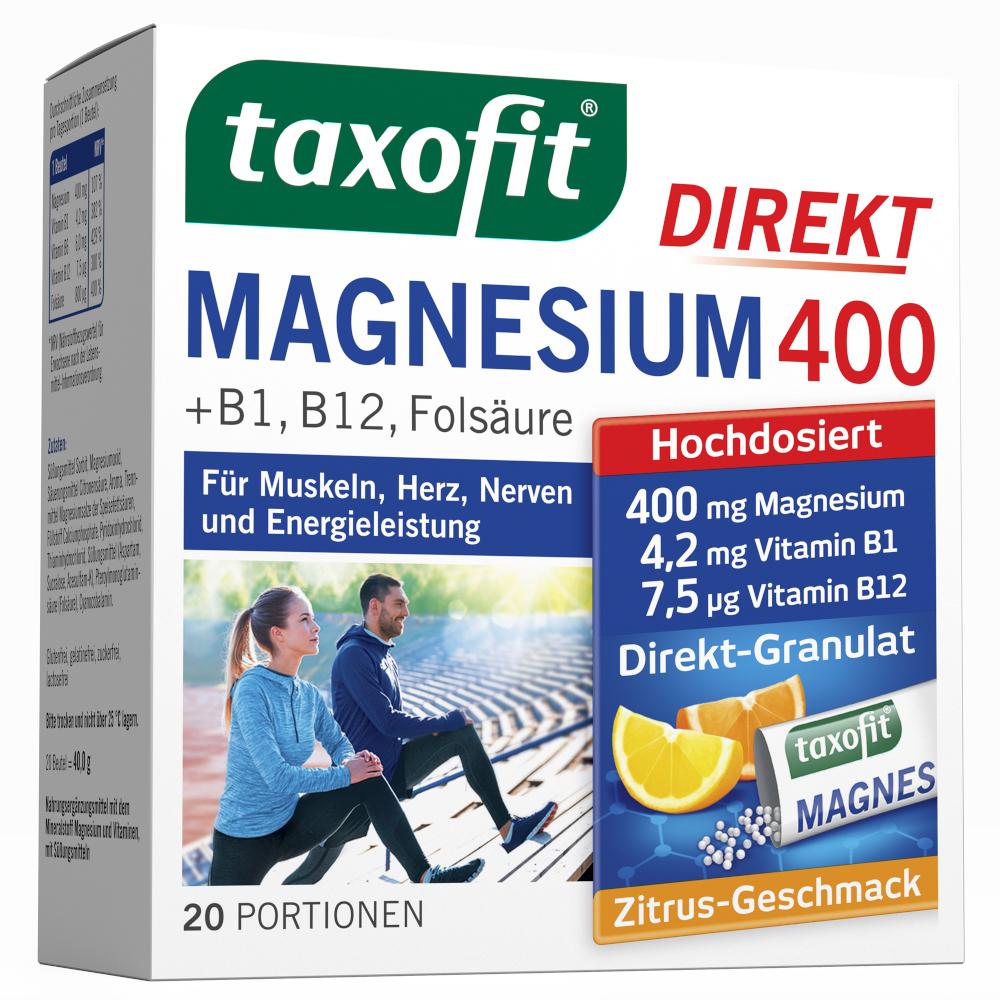 Taxofit MAGNESIUM 400 DIREKT