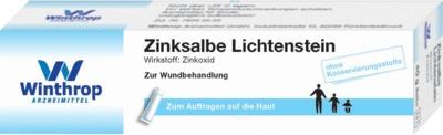 Zentiva Pharma GmbH ZINKSALBE 03502133