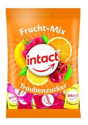 intact Traubenzucker Frucht-Mix