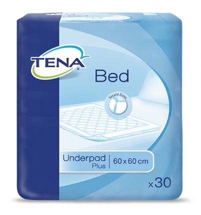 TENA Bed Krankenunterlagen Plus 60x60cm