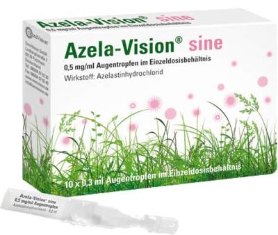 Azela-Vision sine 0,5 mg/ml Augentropfen im Einzeldosisbehältnis