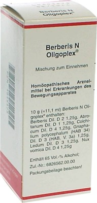 BERBERIS N Oligoplex Liquidum