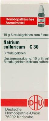 NATRIUM SULFURICUM C 30 Globuli