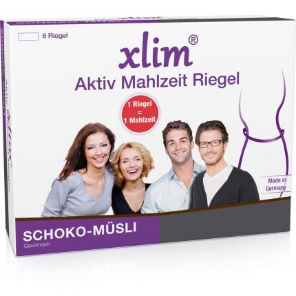 XLIM Aktiv Mahlzeit Riegel Schoko-Müsli