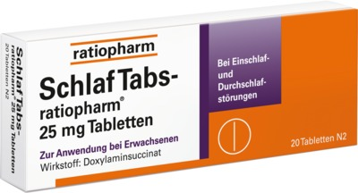 SchlafTabs-ratiopharm 25mg